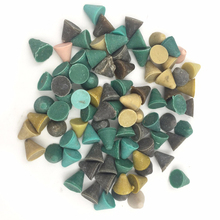1kg/pack Abrasive Tool Cone Plastic Polishing Media For Jewelry Polishing Tools