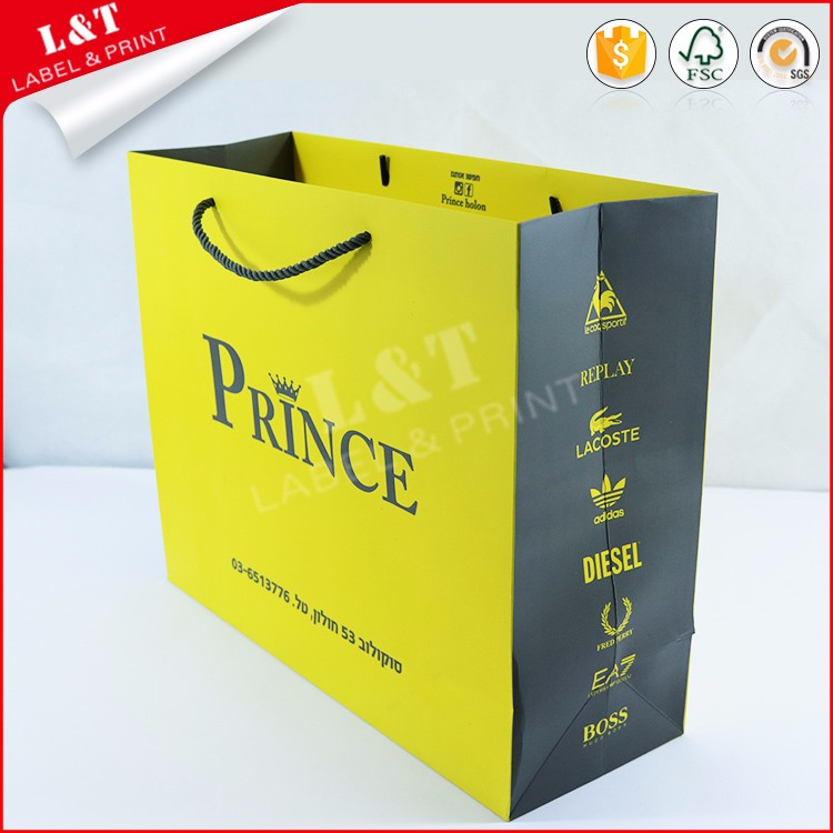 Custom High Quality Paper Bag Manufacturing Company