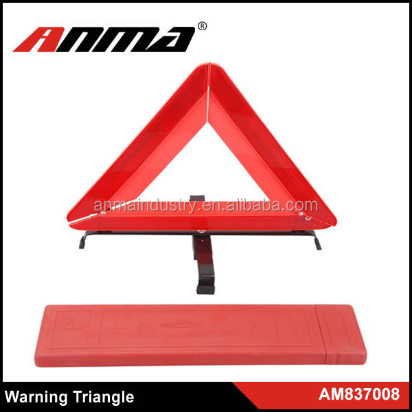 New Custom Highway Foldable Reflective Emergency Safety Warning Triangle