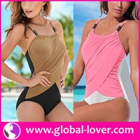 accept paypal low moq wholesale one piece girl women sex swimming wear