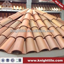 traditional chinese clay barrel roof tile