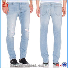 Most Popular Denim Jeans Wholesale China From Garment Factory In Dongguan City Of Good Qaulity Denim Fabric With Four Pockets