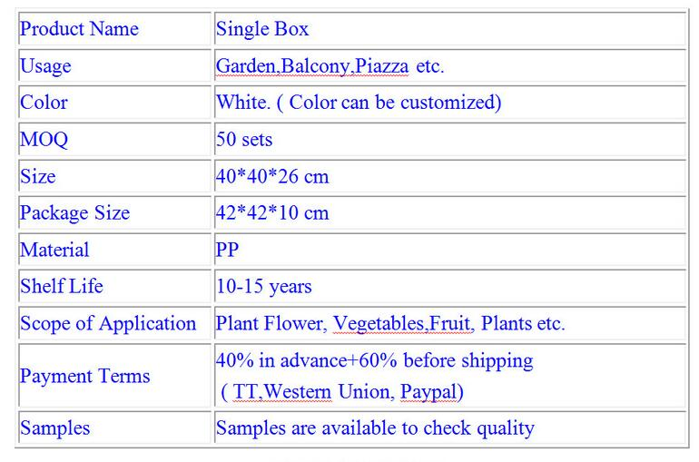 planter raised bed Big garden grow system planter box plant shipping box grow box complete