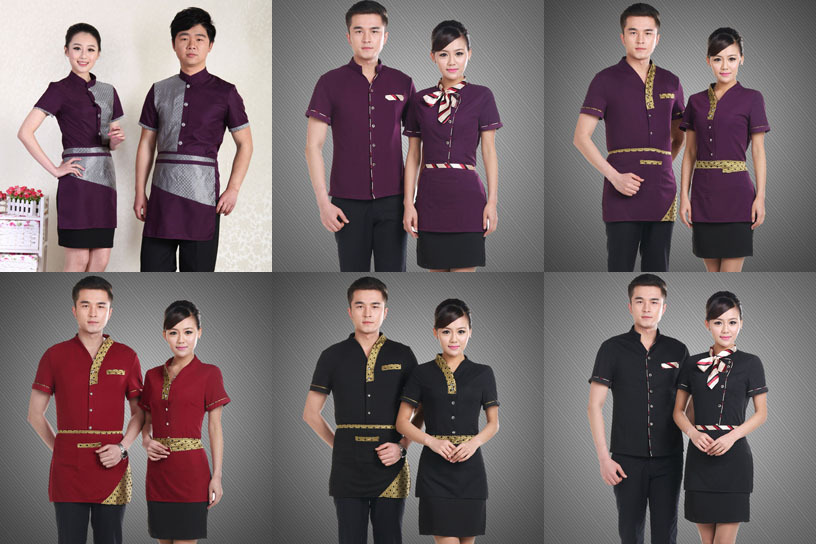2015 high quality hotel waiter uniform waiter uniform for Hotel design jersey