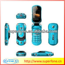2012 new hot sale bands Special super mini Sports Car Mobile Phone Q8