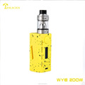 Hot selling itemsTeslacigs WYE-200w with two 18650 cells set up,best mod vape supply