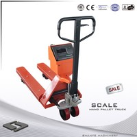 Hot Sale SHANYE manual hand pallet truck scale truck