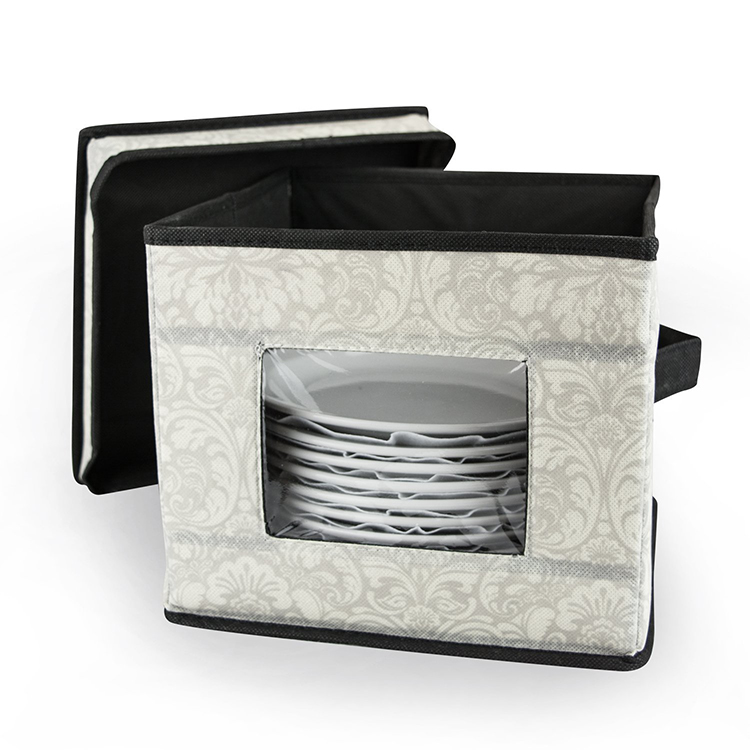 Wine Glass Storage box with Removable Insert Transporting Glasses