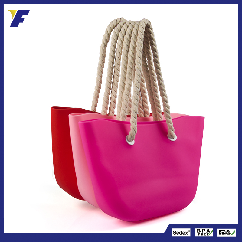 Fashion Custom Silicone Handbag Manufacturers China