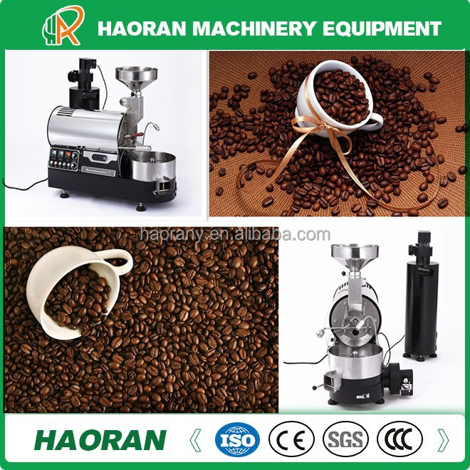 industrial peanut coffee bean and chestnut roasting roaster equipment machine