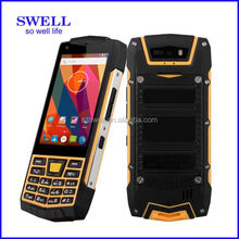 2016 New smart mobile phone 3G SOS Walkie Talkie NFC Android6.0 rugged feature youtube speaker phone