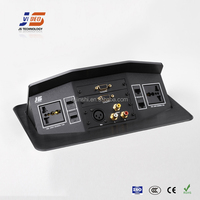 JS-7 functional HDMI AV Tabletop socket outlet supplier