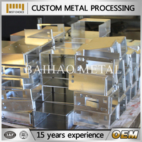 metal clutch box frame, metal bracket with hinge, aluminum fabricators