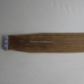 20inch #27 Strawberry Blonde Double Drawn Chinese Remy Tape Hair Extensions
