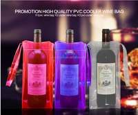 china suppliers free sample plastic shop wine bottle bag foldable
