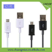 Hot selling 1m For Samsung micro usb cable with 6 different quality