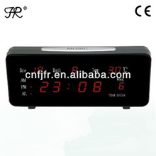 digital electric calendar table alarm clock design for kids