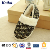 New design cashmere shoes for women