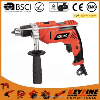 KEYFINE13mm 810W Electric drill homeusing construction impact drill