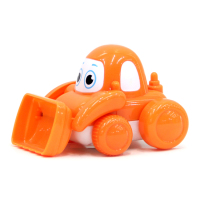 Wholesale cheap safety plastic cartoon small friction car toys