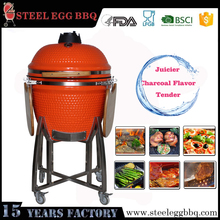 Hot sale house trolley bamboo bbq stick machine kamado grill