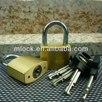 Keyed Alike System Solid Brass Padlock,Replacable Pin Cylinder ...