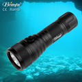 Brinyte 4 Gears Adjustable Led Diving Flashlight,1050 Lumens Powerful Flashlight for Diving