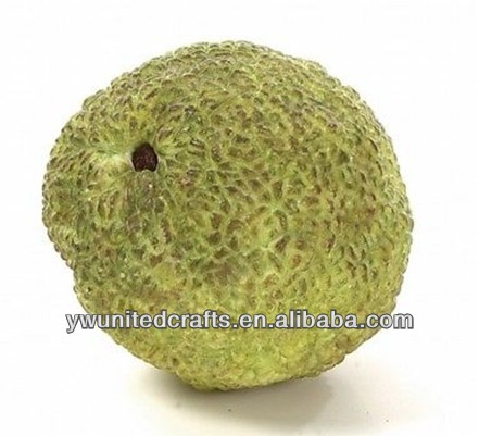 "12 4"" Artificial Osage Orange Hedge Apple Citrus Fruit"