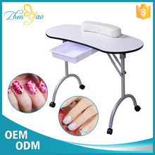 Portable Nail Table Spa Furniture Mobile Salon Manicure Styling Station