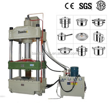 Factory approved by Alibaba 63T CNC aluminium pot making machine deep drawing hydraulic press
