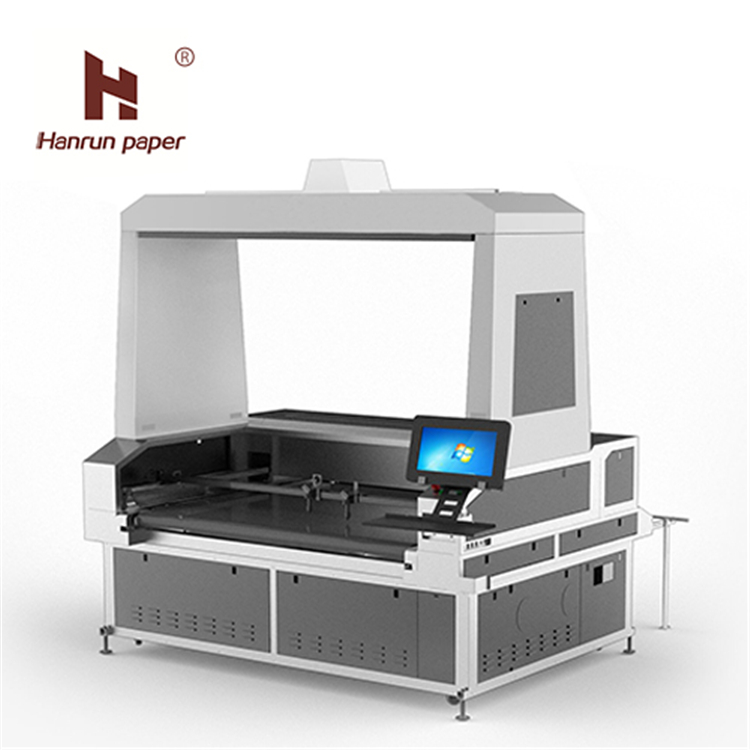 CO2 laser cutter fabric laser cutting machine for sublimation fabric textile