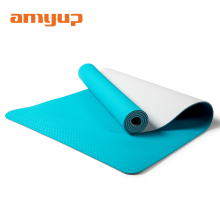 High quality tpe yoga mat 6mm logo custom