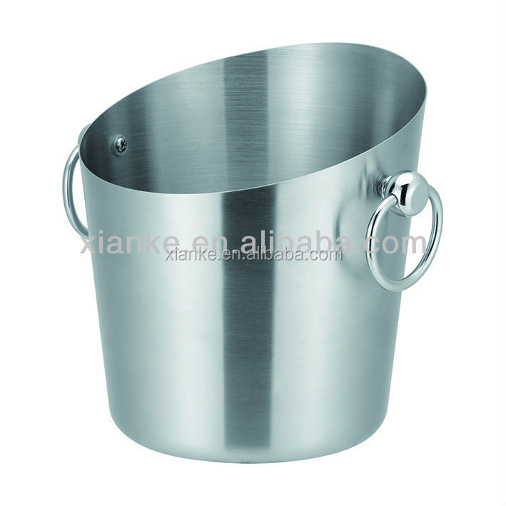 Favorable price stainless steel wine bucket 5.0L champagne cooler