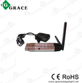XLR 2.4GHz wireless DMX512 receiver/transmitter;1 piece of transmitter and 6 pcs of receivers