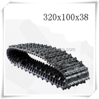 Replacement rubber track for IHI IS25S,25S-2 320x100x38 nature rubber for Construction/Agriculture