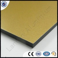 3mm 4mm Thick Cheap Price High Quality Mirror and Brushed Aluminium Composite Panel Price In India