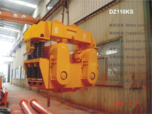 DZ110KS heavy construction equipment VIBRATORY HAMMER for sheet pile