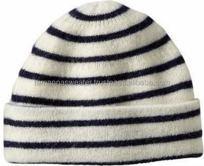 WINTER HAT:- ALL TYPES OF PLAIN & STRIPE KNITTED HAT