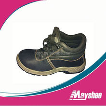 2014 new genuine leather sport stlye safety shoe for man and woman