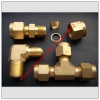 Threaded Union Tee Copper Pipe Fittings