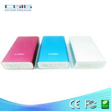 Portable Power Bank for iphone5 Power Bank 7800mah Power Bank Battery Case for iphone 5