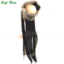 Alibaba <strong>express</strong> wholesale silk straight full cuticle 360 lace frontal