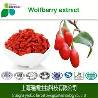 100% Organic Pure Lycium Barbarum Extract Powder/Goji Berry Extract/Wolfberry Fruit PE.