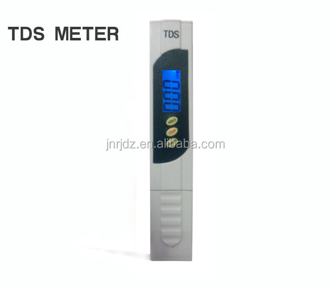 Water treatment purifier water quality tester TDS meter hold