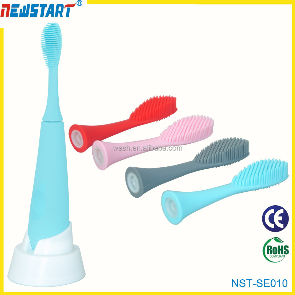 New arrival Vibrating silicone sonic toothbrush