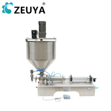 hot sale single filling head 500-5000ml stainless steel <strong>fruit</strong> paste filling machine g1wt