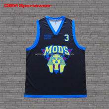 High quality coolmax basketball jersey for kids