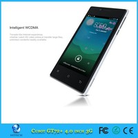 Original Cubot GT72+ MTK6572W Dual Core Smart Mobile Phone 4.0'' 4 inch IPS Android 4.4 WCDMA 3G 512MB 4GB
