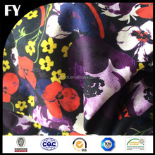 Custom new design high quality digital printing linen fabric wholesale