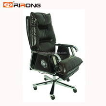 Wholesale high end back reclining adjustable Swivel executive sleeping office leather chair